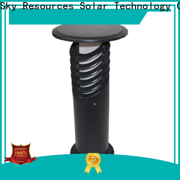 SRS integrated large solar garden lights supplier for house
