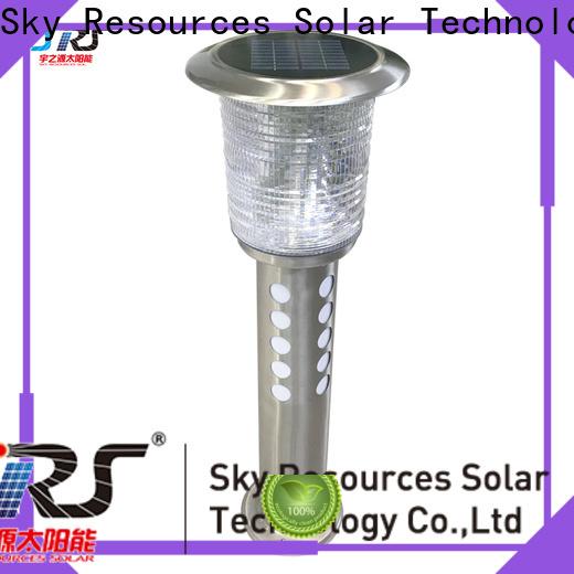 SRS spike mini outdoor solar lights details for umbrella