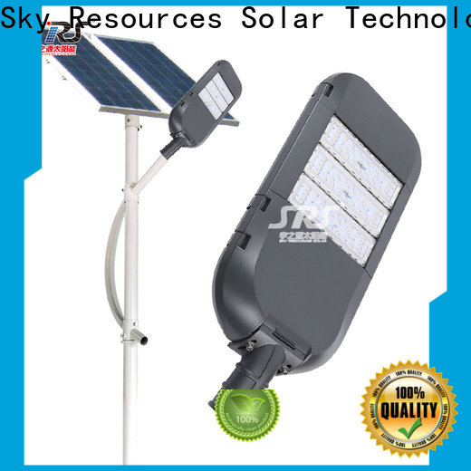 SRS custom commercial solar powered street lights factory for home