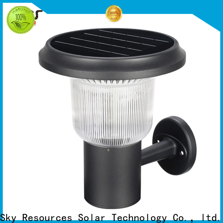 Latest cheap solar wall lights garden supply for house
