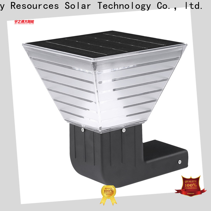 SRS High-quality cheap solar wall lights supply for home