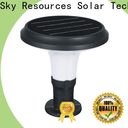 SRS Best solar powered led landscape lights supply for home use