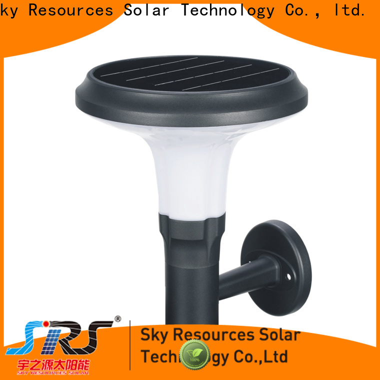 SRS Latest solar wall fence lights manufacturers for public lighting