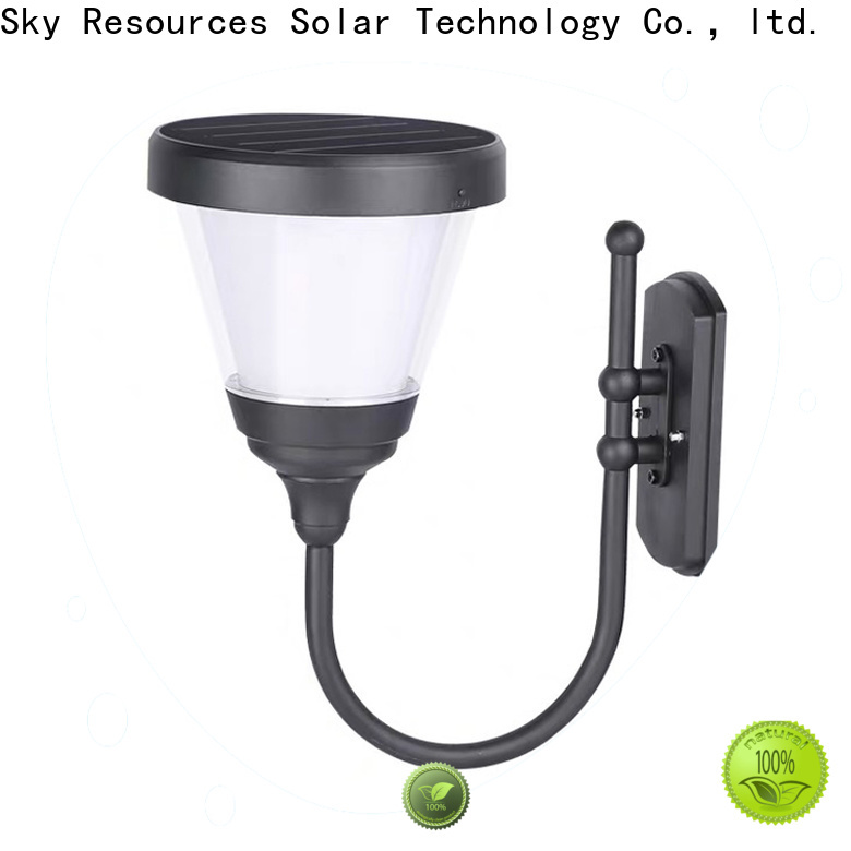 SRS light solar powered up and down wall lights company for home