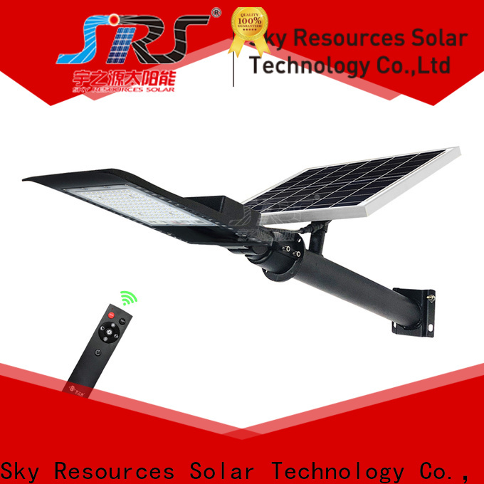 SRS yzyll601 30w solar street light configuration for flagpole