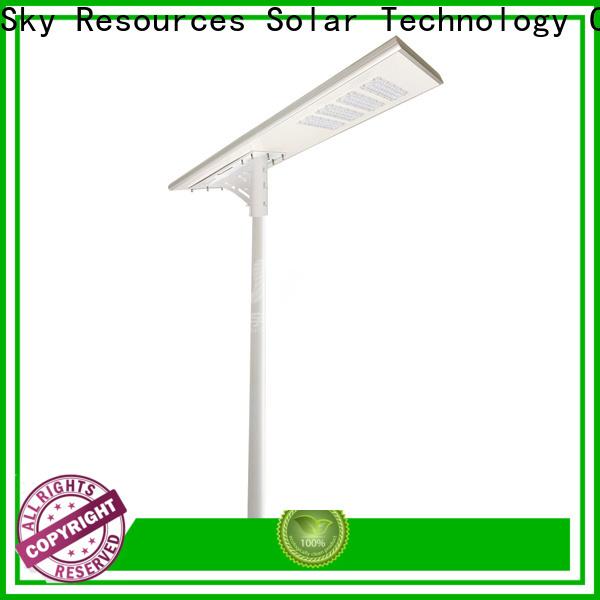 SRS smart remote control 20 watt solar street light last for school