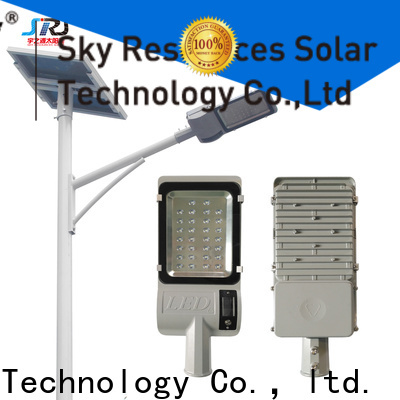 SRS fix solar powered road lights price list for fence post
