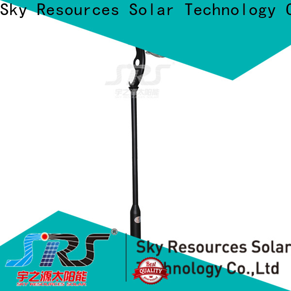 SRS high quality solar garden lights export for posts