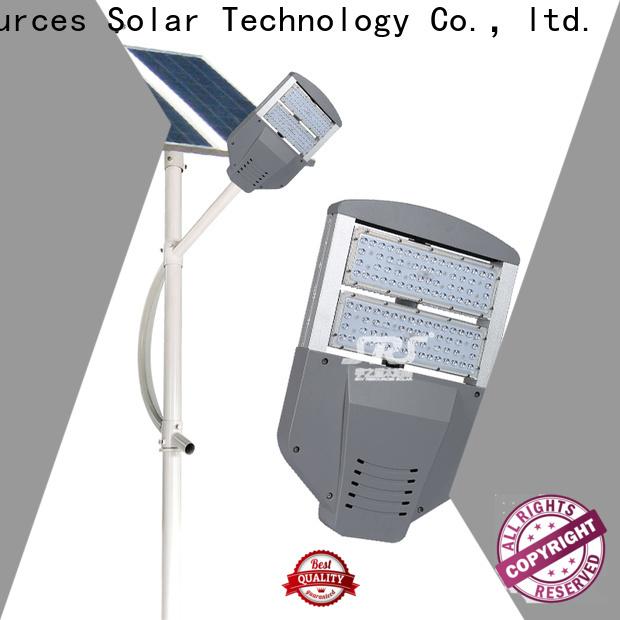 SRS 50w solar led street light kit supplier for outside