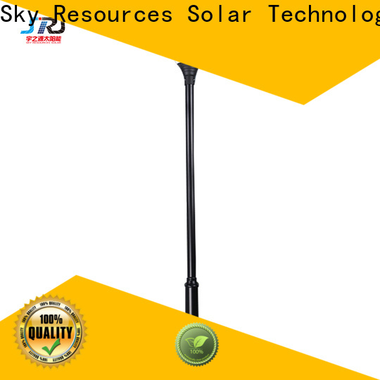 SRS coloured solar lamps for garden export for trees