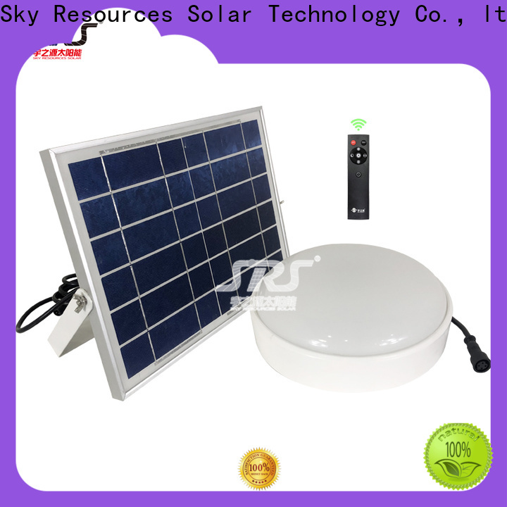 SRS solar energy led lights company for school