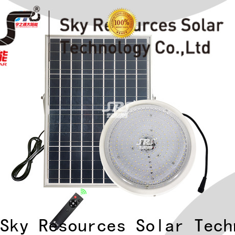 SRS solar light sets sale factory for school