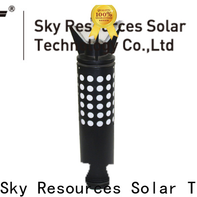 SRS integrated mini outdoor solar lights system for house