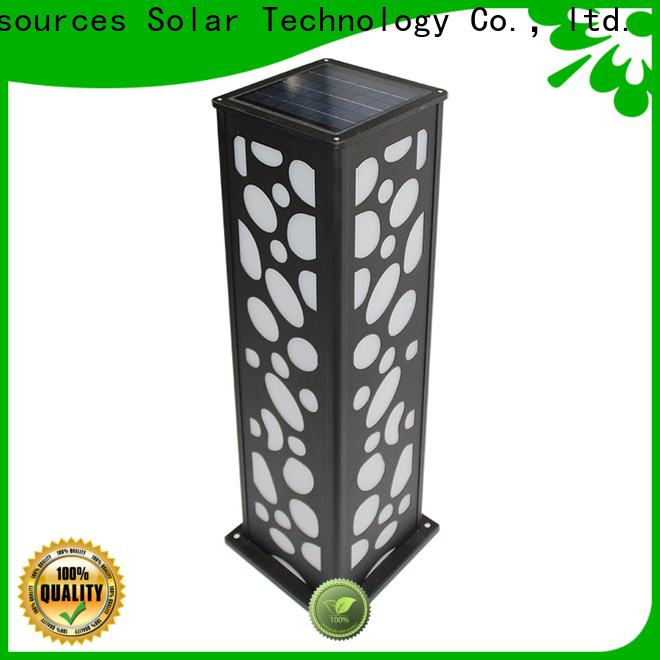 SRS integrated led lights for lawn working for posts