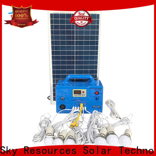 New small solar power system inverter application for home