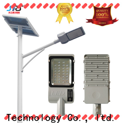 SRS cheap solar powered pole lamps configuration for flagpole