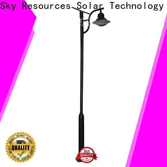 SRS high quality solar panel garden lights products for walls