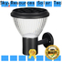 SRS black solar outdoor wall light fixtures company for school