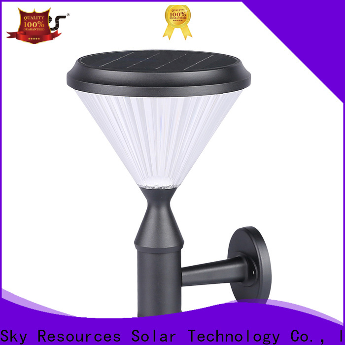 SRS external decorative solar wall lights for business for school
