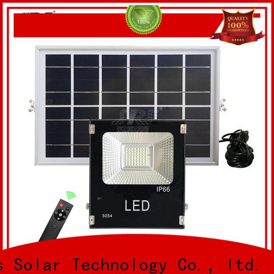 smart solar street light sensor project for village