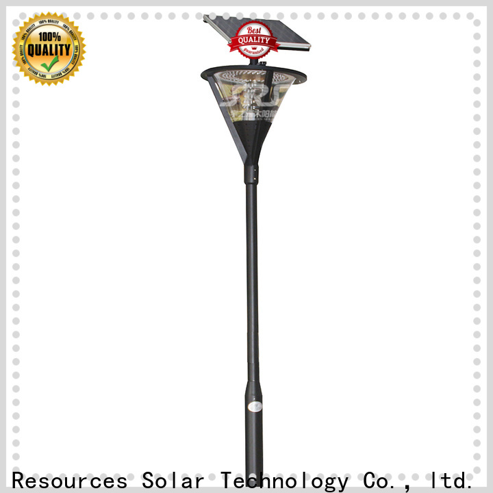 SRS lamp outdoor solar stake lights factory for posts