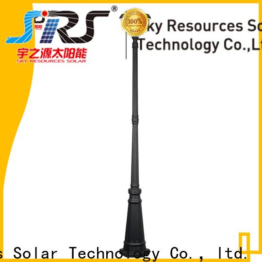 SRS New best solar garden lights 2018 suppliers for posts