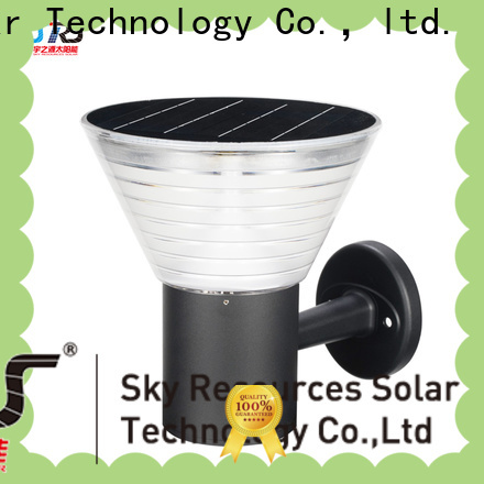 SRS Custom outdoor wall lighting sets factory for school
