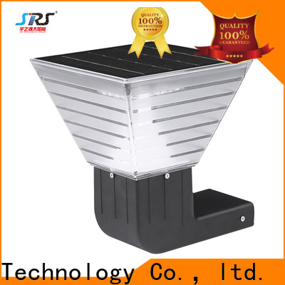 SRS Wholesale solar led wall light supply for school