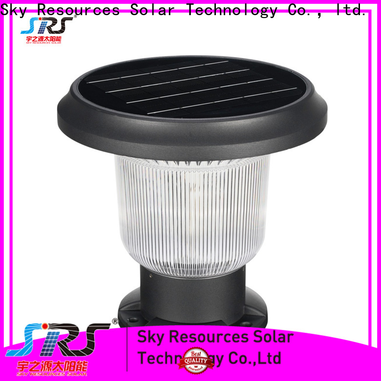 Top large solar lights for pillars double suppliers for pathway