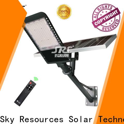 SRS Best 60 watt solar street light company for fence post