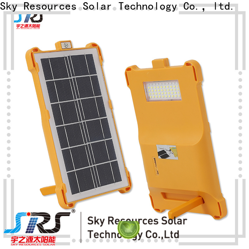 SRS Top wagan tech solar led floodlight for business for home use