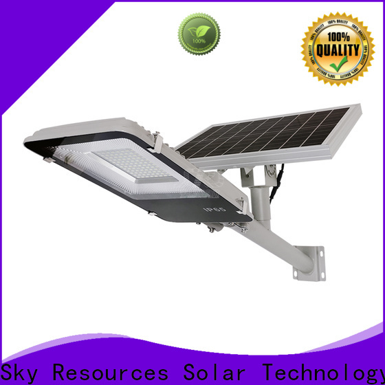 SRS fixture solar street light integrated company for fence post