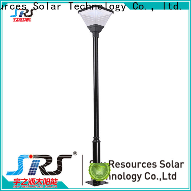 SRS New powerful solar garden lights manufacturers for posts
