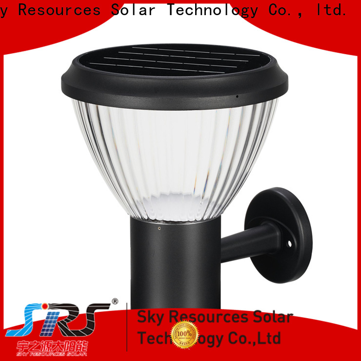 SRS external solar lamp wall suppliers for house