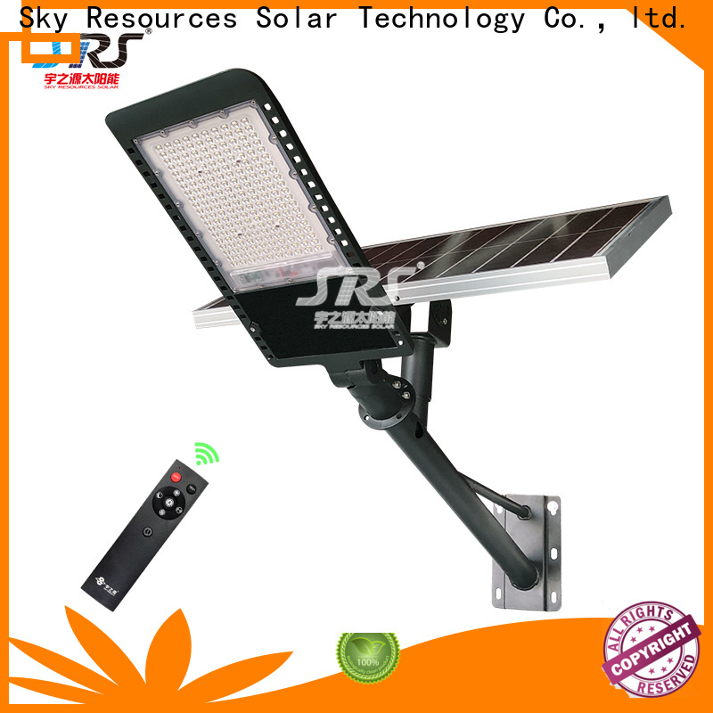 SRS smart solar street light 12 watt for business for fence post