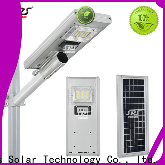 SRS Wholesale lithium ion solar street light company for school
