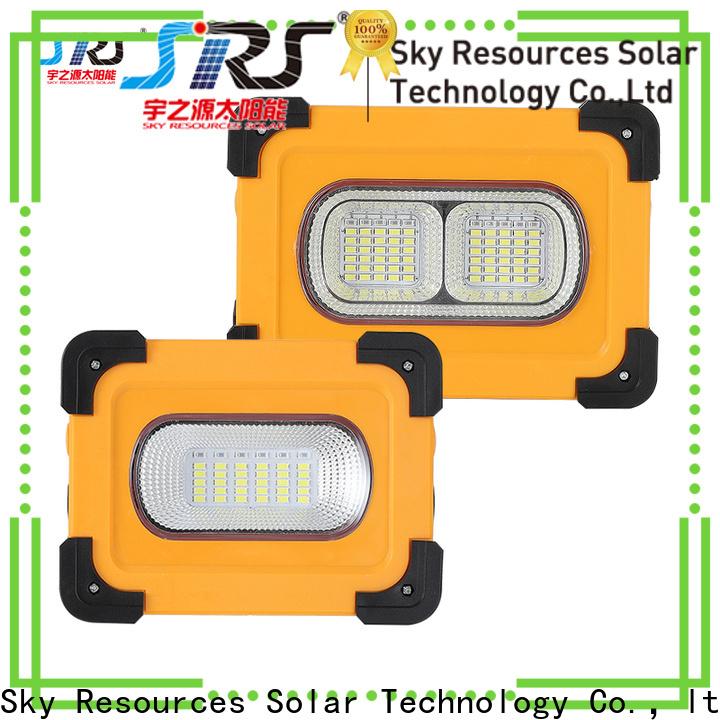 SRS ip65 10w solar led flood light suppliers for village