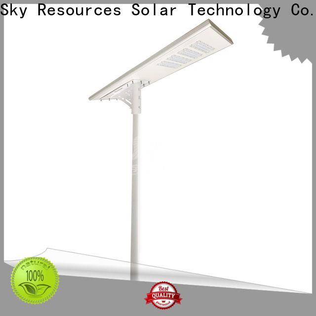 Latest cost of installing solar street lights panel company for garden