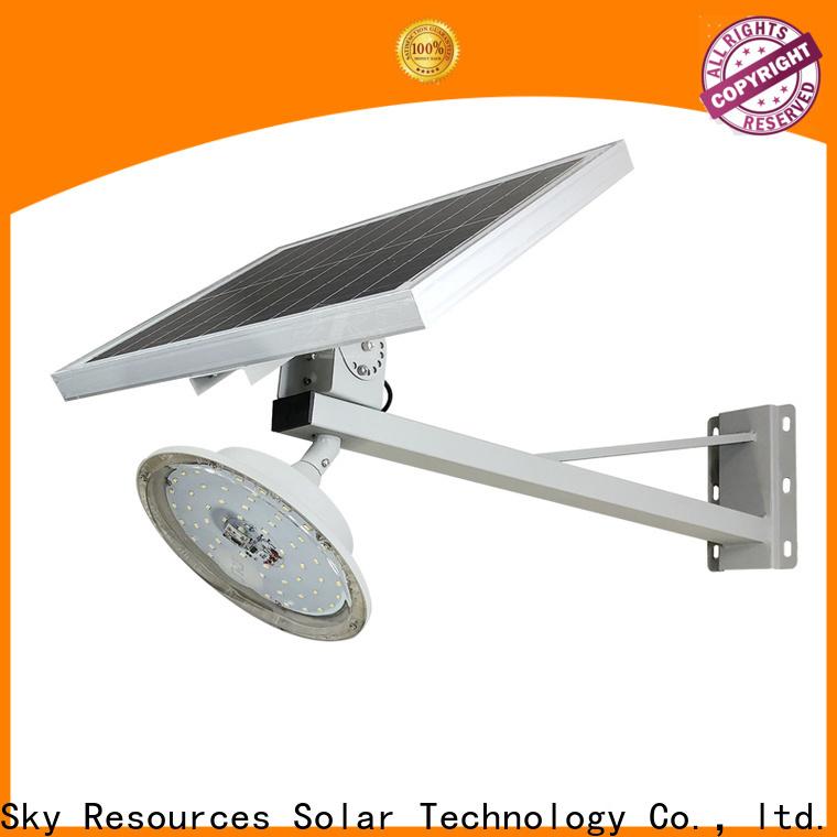 SRS Custom wholesale solar led street light company for fence post