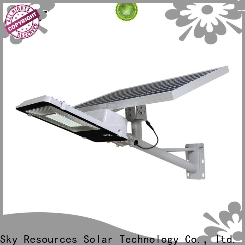 SRS Latest integrated solar led street light manufacturers for flagpole