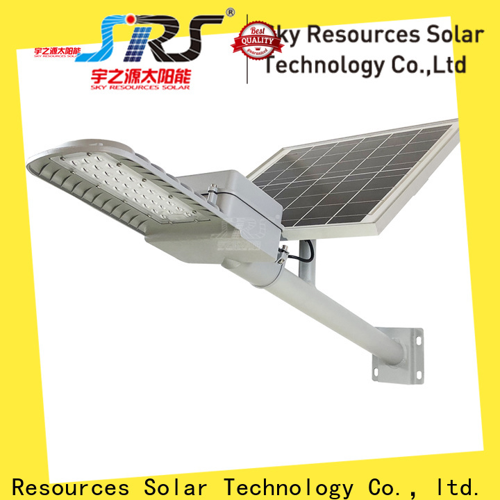 Custom solar street light with motion sensor power manufacturers for flagpole