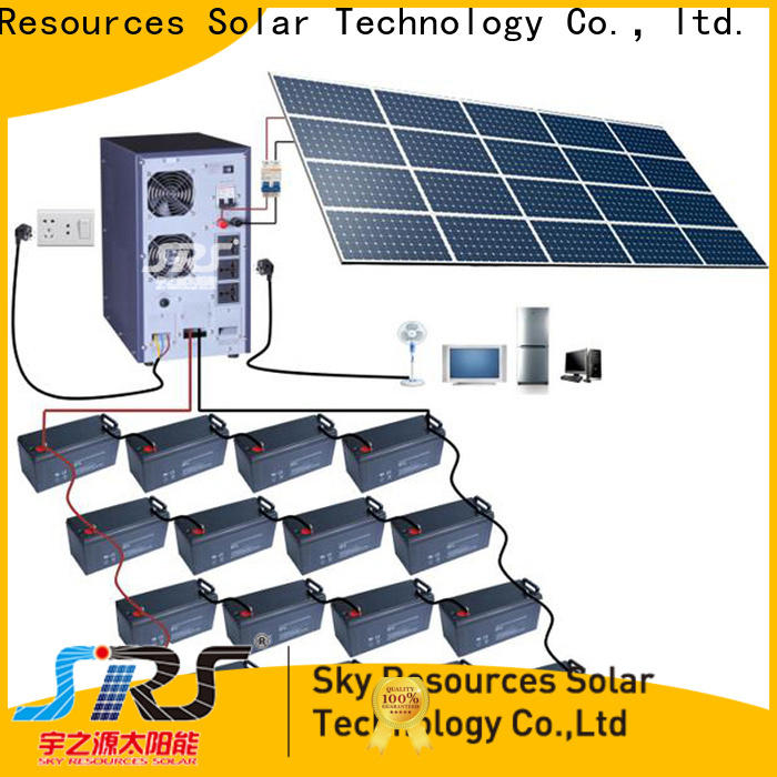SRS Best solar system 5kw company for home