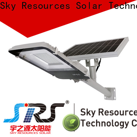 SRS High-quality solar compound lights manufacturers for fence post