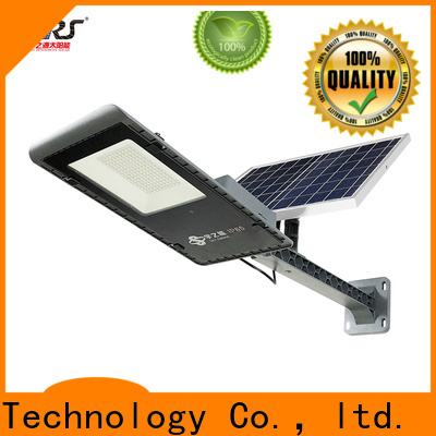 SRS lights led street light with solar panel supply for fence post
