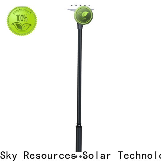SRS oem ultra bright solar garden lights for business for posts
