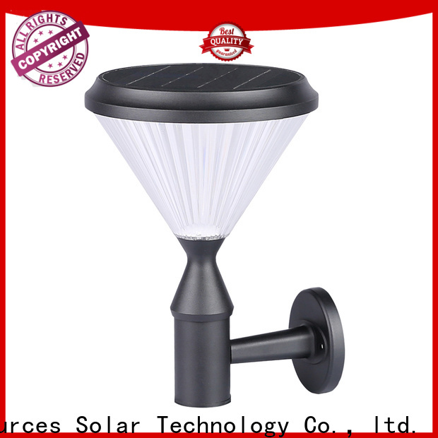 Top solar wall fence lights modern supply for home