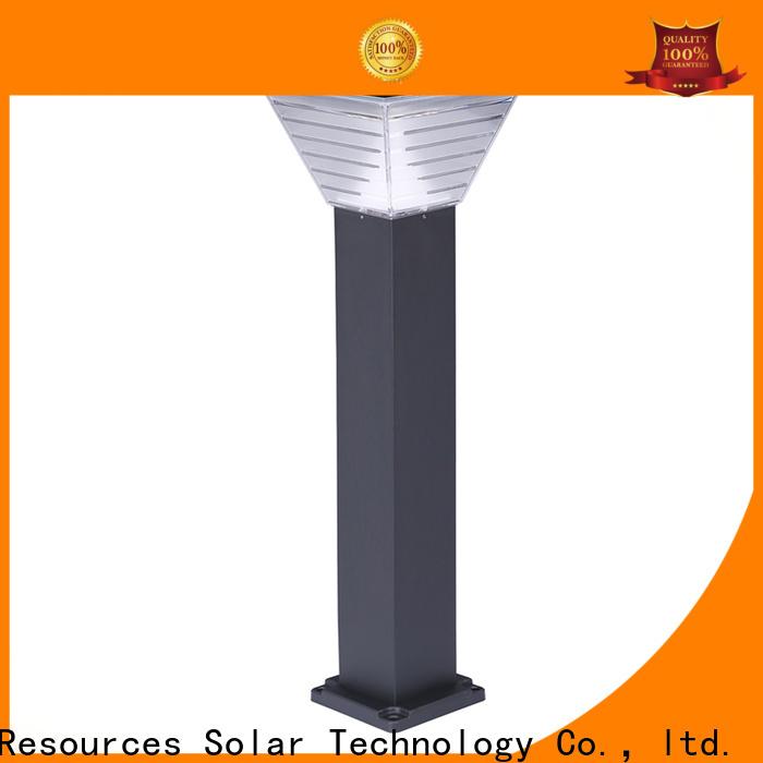 SRS lamp tall solar garden lights factory for house