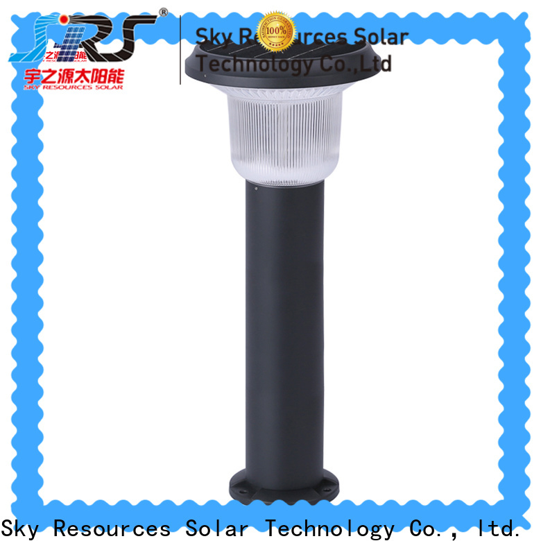 SRS Custom outdoor solar lights factory for patio