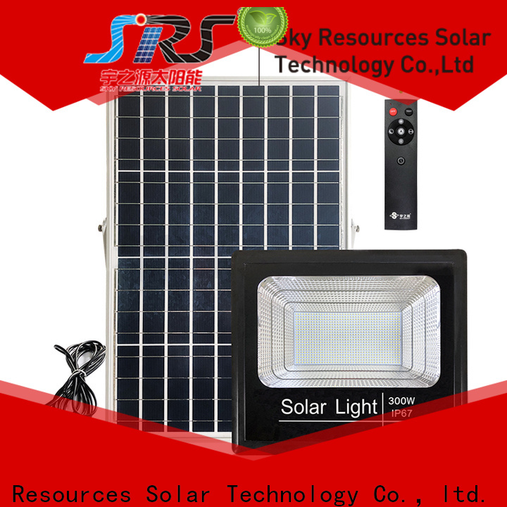 SRS ourdoor solar pir floodlight for business for home use