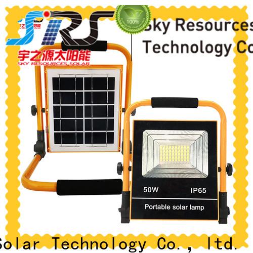 SRS lights solar motion flood lights manufacturers for village